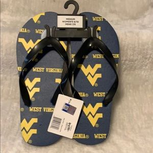 Shoes - WVU Licensed Team Flips Unisex Medium